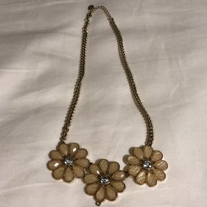 Cute flower statement necklace